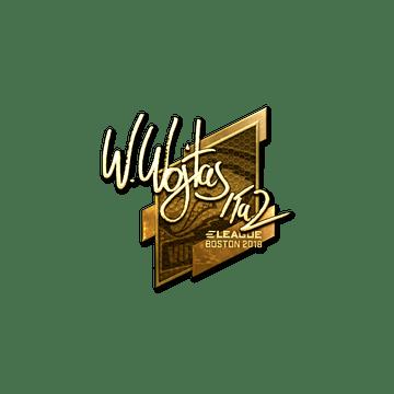 Sticker | TaZ (Gold) | Boston 2018