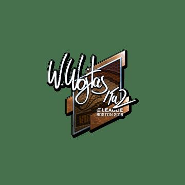 Sticker | TaZ (Foil) | Boston 2018