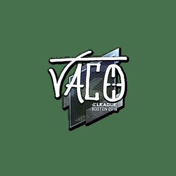 Sticker | TACO (Foil) | Boston 2018