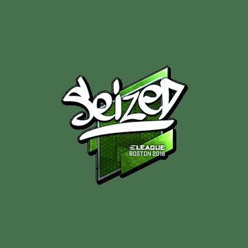 Sticker | seized (Foil) | Boston 2018