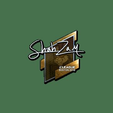 Sticker | ShahZaM (Foil) | Boston 2018