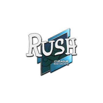 Sticker | RUSH | Boston 2018