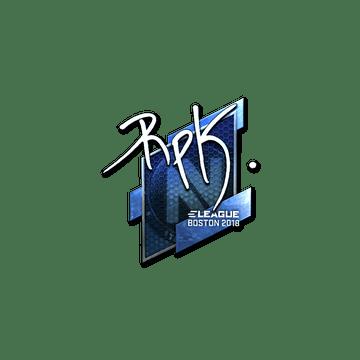 Sticker | RpK (Foil) | Boston 2018