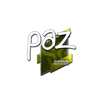 Sticker | paz (Foil) | Boston 2018