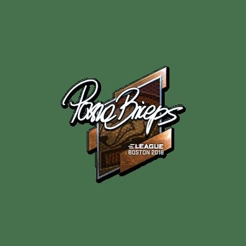 Sticker   pashaBiceps (Foil)   Boston 2018