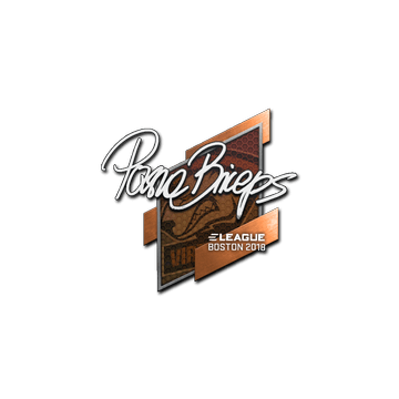 Sticker | pashaBiceps | Boston 2018