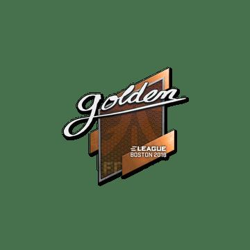 Sticker | Golden | Boston 2018
