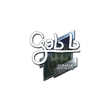Sticker | gob b (Foil) | Boston 2018