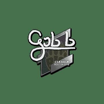 Sticker | gob b | Boston 2018
