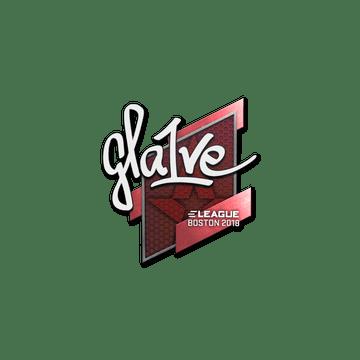Sticker   gla1ve   Boston 2018
