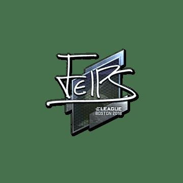 Sticker | felps (Foil) | Boston 2018