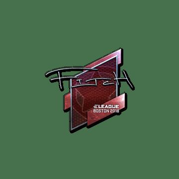 Sticker | fitch (Foil) | Boston 2018