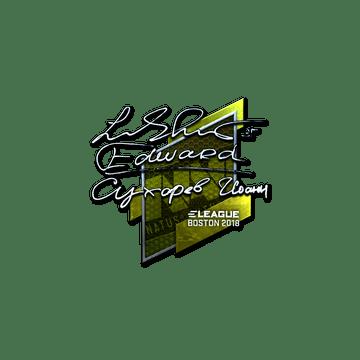 Sticker | Edward (Foil) | Boston 2018