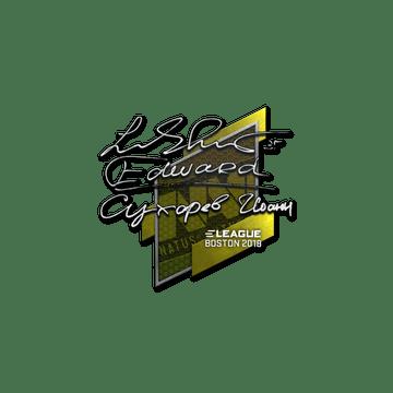 Sticker   Edward   Boston 2018