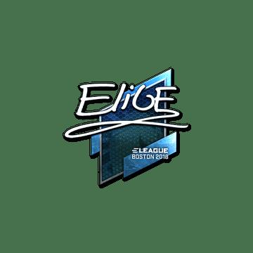 Sticker | EliGE (Foil) | Boston 2018