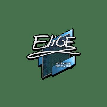 Sticker | EliGE | Boston 2018