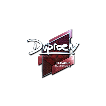 Sticker | dupreeh (Foil) | Boston 2018