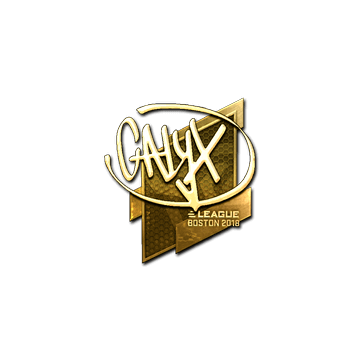Sticker | Calyx (Gold) | Boston 2018
