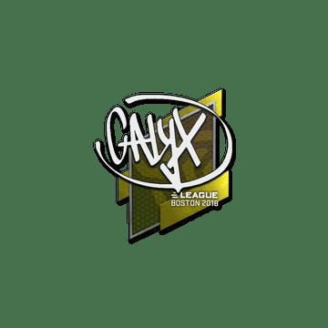 Sticker | Calyx | Boston 2018