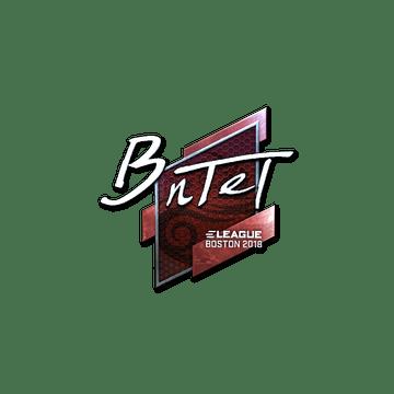 Sticker | BnTeT (Foil) | Boston 2018