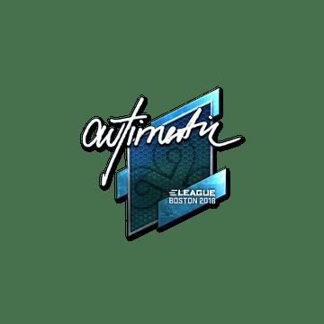 Sticker | autimatic (Foil) | Boston 2018