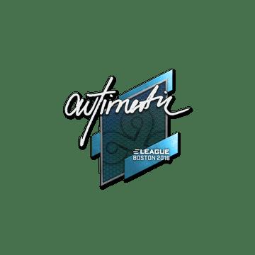 Sticker   autimatic   Boston 2018