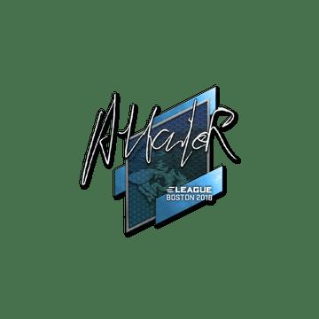 Sticker | Attacker | Boston 2018