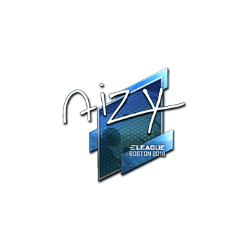Sticker | aizy (Foil) | Boston 2018