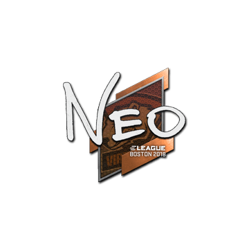 Sticker | NEO | Boston 2018