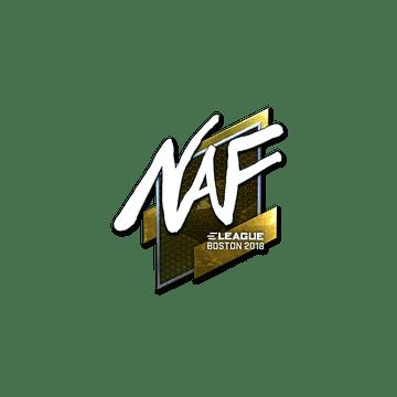 Sticker | NAF (Foil) | Boston 2018