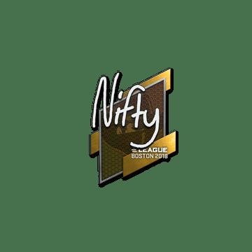 Sticker | Nifty | Boston 2018