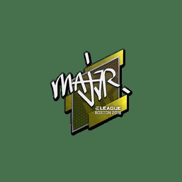 Sticker | MAJ3R | Boston 2018
