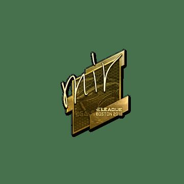 Sticker | mir (Gold) | Boston 2018