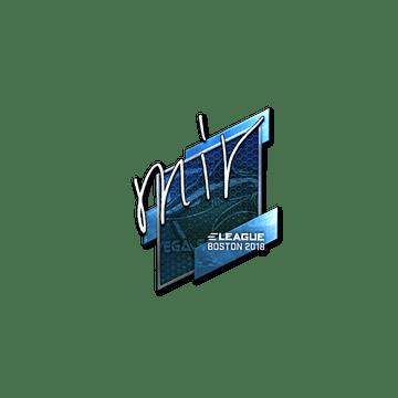 Sticker | mir (Foil) | Boston 2018
