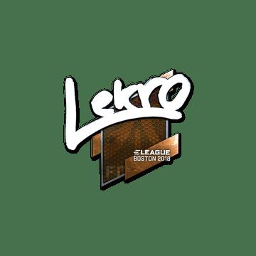 Sticker | Lekr0 (Foil) | Boston 2018