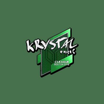 Sticker   kRYSTAL   Boston 2018