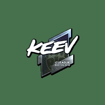 Sticker   keev (Foil)   Boston 2018
