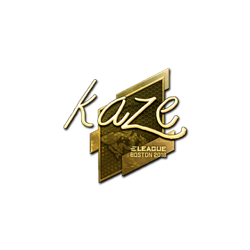 Sticker | Kaze (Gold) | Boston 2018