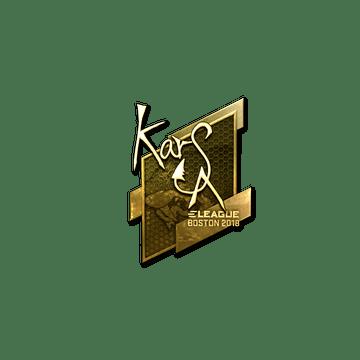Sticker | Karsa (Gold) | Boston 2018