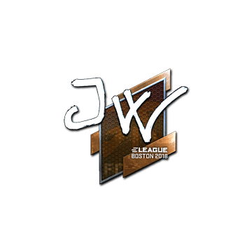 Sticker   JW (Foil)   Boston 2018