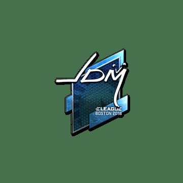 Sticker   jdm64 (Foil)   Boston 2018