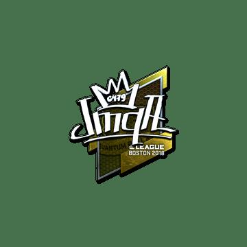 Sticker | jmqa (Foil) | Boston 2018