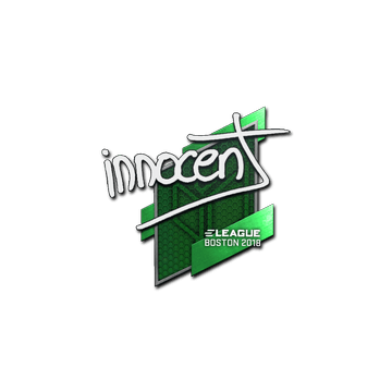Sticker | innocent | Boston 2018