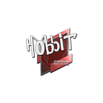 Sticker | Hobbit | Boston 2018