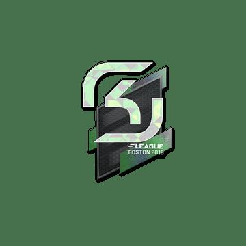 Sticker   SK Gaming (Holo)   Boston 2018