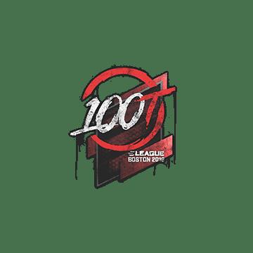 Sealed Graffiti | 100 Thieves | Boston 2018