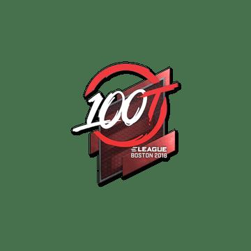 Sticker | 100 Thieves | Boston 2018