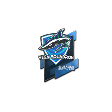 Sticker | Vega Squadron (Holo) | Boston 2018