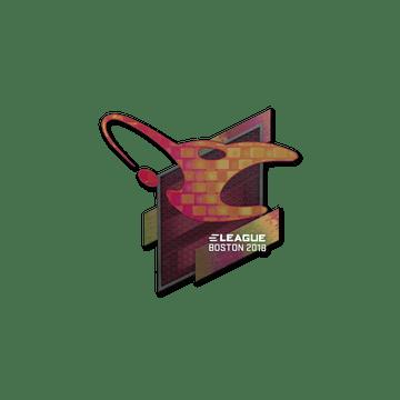 Sticker   mousesports (Holo)   Boston 2018