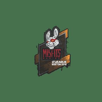 Sealed Graffiti | Misfits Gaming | Boston 2018